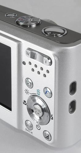 Fujifilm FinePix F30 - controls