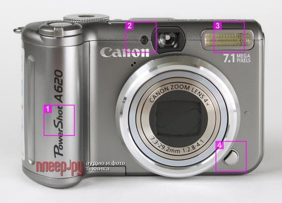 инструкция canon powershot a620