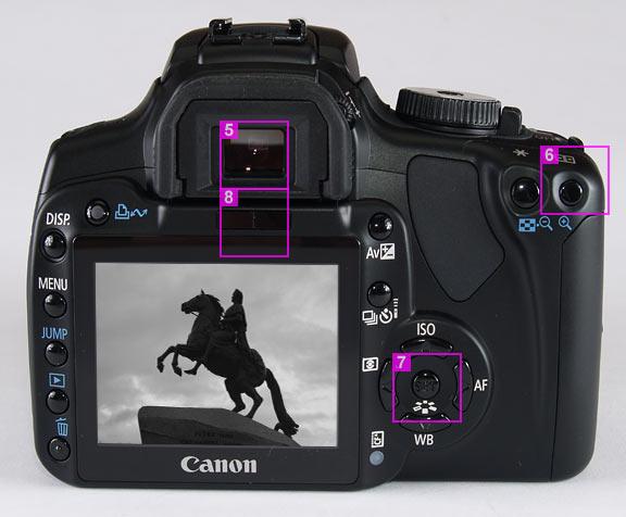фотоаппарат Canon Eos 400d инструкция - фото 11