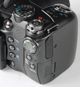 Canon S3 IS - controls