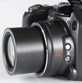 Canon S3 IS - lens
