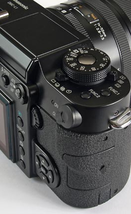 Panasonic Lumix DMC-L1 - controls