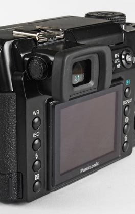 Panasonic Lumix DMC-L1 - viewfinder