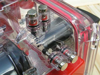 Подводный бокс Olympus PT-015. Аквакейс для подводной съемки цифровой фотокамерой Olympus C-5050